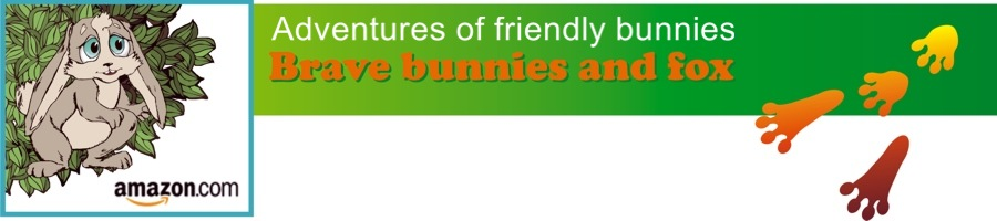 CLICK TO GO TO PAGE AMAZON.COM Adventures friendly bunnies Brave bunnies and fox