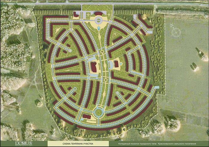 Scheme master plan site.