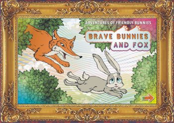 Adventures friendly bunnies Brave bunnies and fox - for CHILDREN Kindle Amazon